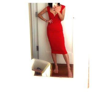 Nookie Red bodycone dress XS